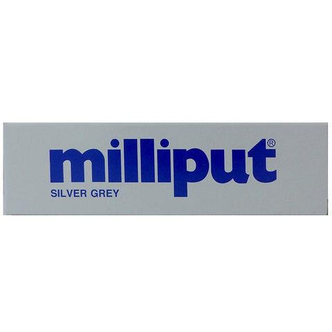 Milliput Two Part Epoxy Putty 4Oz Silver Grey Art Materials