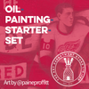 Oil Painting Starter Set Art Materials