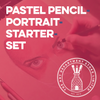 Pastel Pencil Portrait Starter Set Art Materials