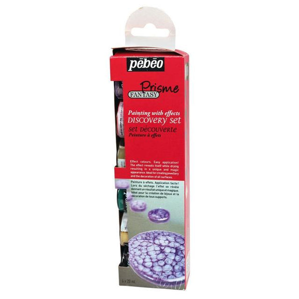 Pebeo Prisme Fantasy Discovery Set 6X20Ml Art Materials