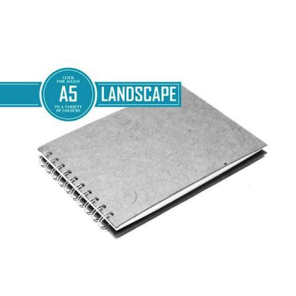 Pink Pig Posh Landscape Sketchbook A5 (White Paper) Art Materials