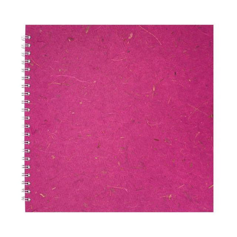 Pink Pig Posh Portrait Sketchbook A3 (Off White Paper) Berry Art Materials