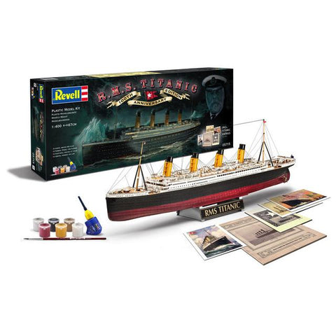 Revell 05715 Rms Titanic 100Th Anniversary Edition 1:400 Art Materials