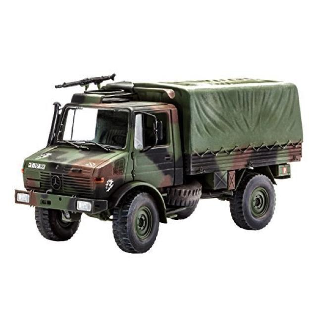 Revell Lkw 2T. Tmil Gl (Unimog) Kit - 1:35 R03082 Art Materials