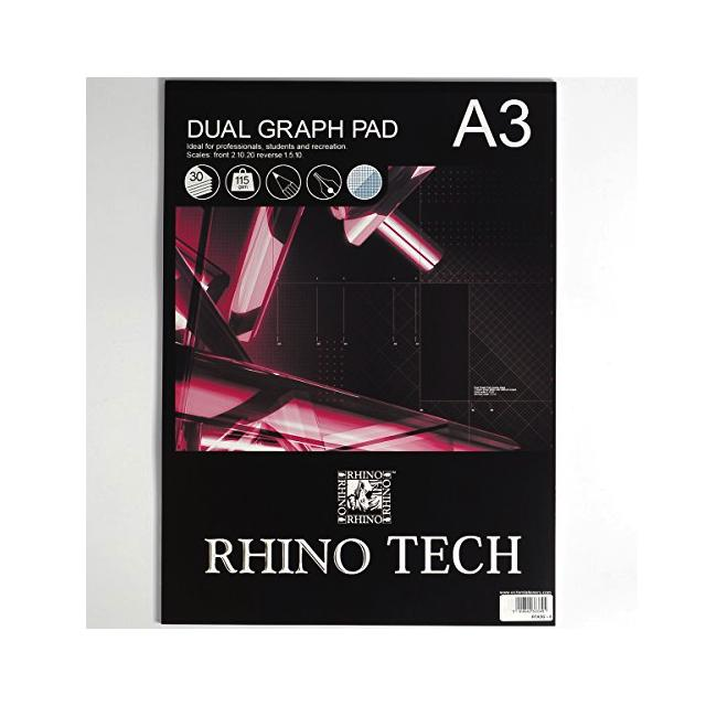 Rhino A3 Graph Pad Art Materials