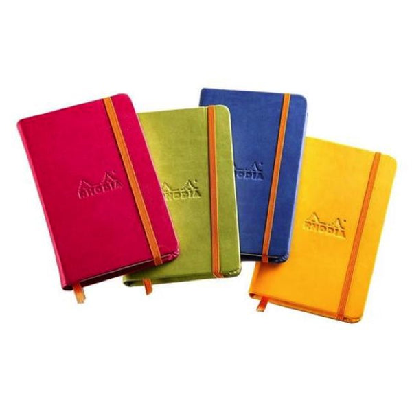 Rhodia Lined Softcover Notebook 10X14Cm Art Materials