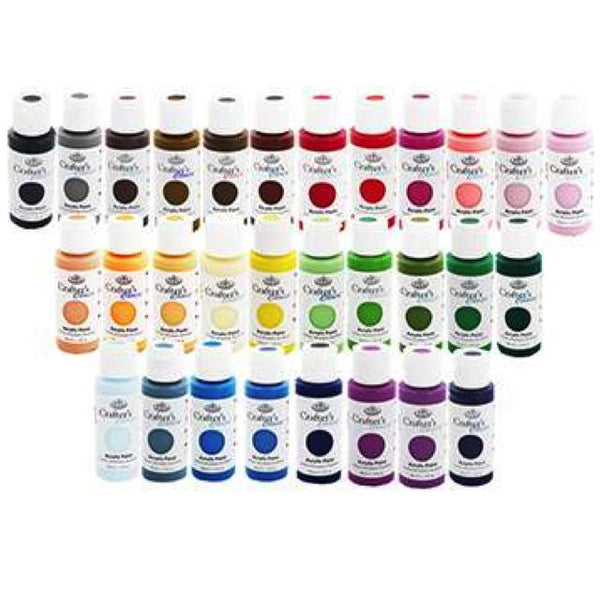 Royal & Langnickel Crafters Choice Acrylic 59Ml Art Materials