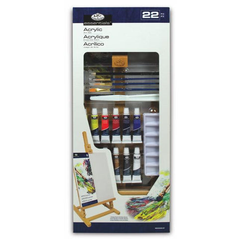Royal & Langnickel Essentials Easel Art Set Acrylic Art Materials