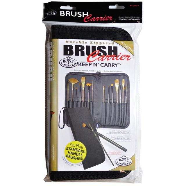 Royal & Langnickel Keep N Carry Brush Case Art Materials