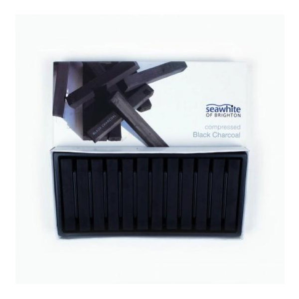 Seawhite Of Brighton Compressed Black Charcoal Set Art Materials