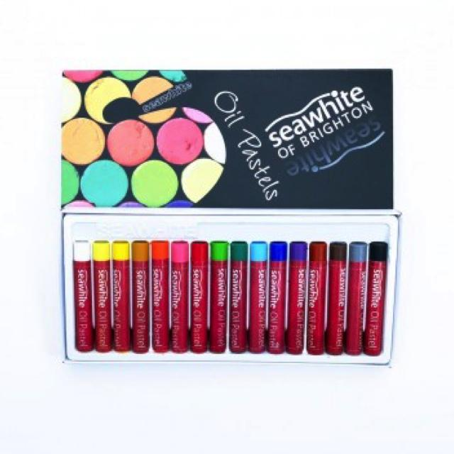 Seawhite Oil Pastel Set 16 Art Materials