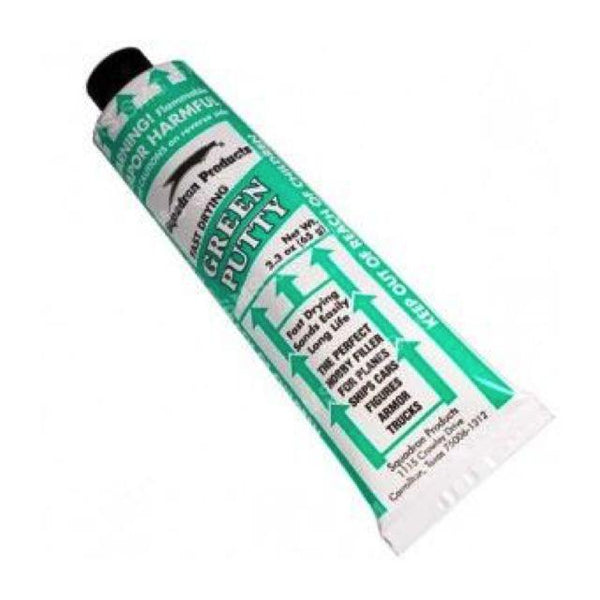 Squadron Green Putty 65G Art Materials