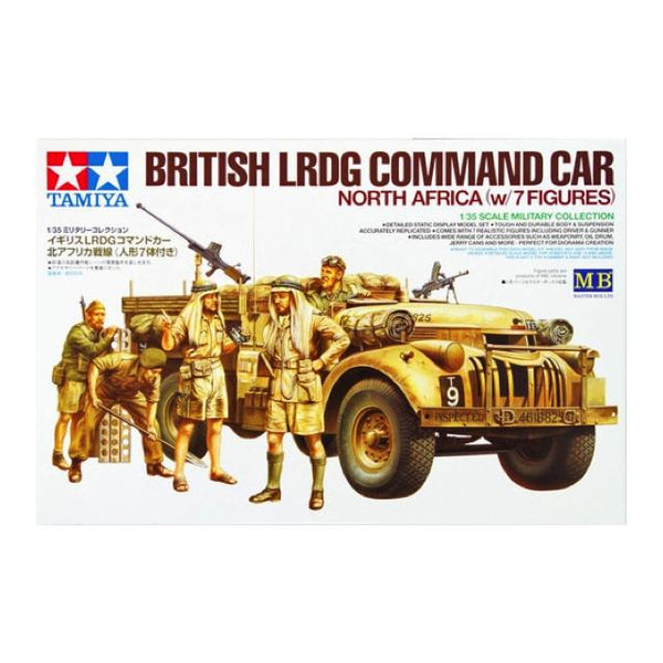 Tamiya British Army Lrdg Cc 30Cwt Truck Ltd 1:35 Art Materials
