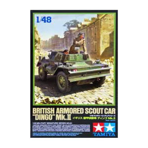 Tamiya British Dingo Mkii Armoured Scout Car 1:48 Art Materials