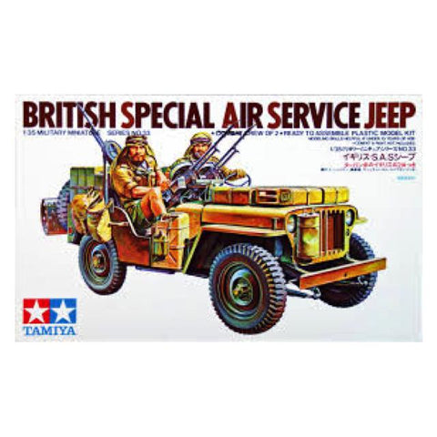 Tamiya British Sas Jeep 1:35 Art Materials
