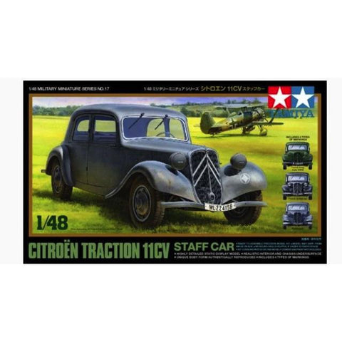Tamiya Citroen Traction Iicv 1:48 Art Materials