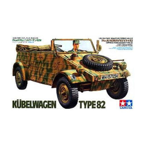Tamiya German Kubelwagen Type 82 1:35 Art Materials