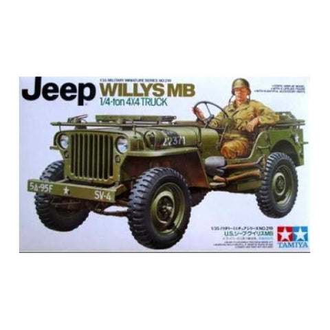 Tamiya Jeep Willys Mb. 1/4-Ton Truck 1:35 Art Materials