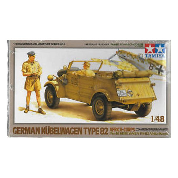 Tamiya Kublewagen Type 82 (Africa) 1:48 Art Materials