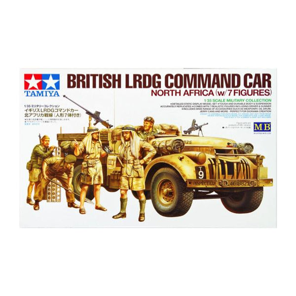 Tamiya Lrdg With 7 Figures Ltd 1:35 Art Materials
