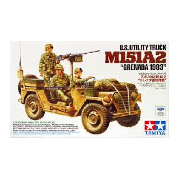 Tamiya M151 A2 Jeep Grenada 1983 1:35 Art Materials