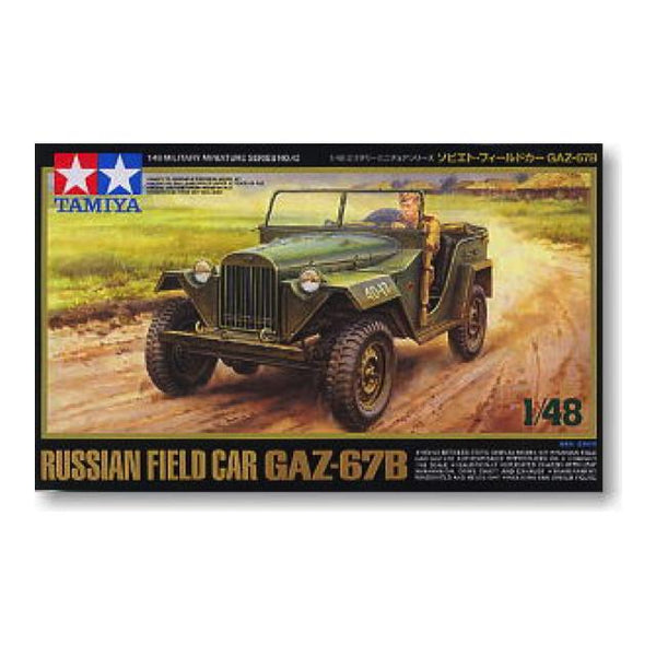 Tamiya Russian Gaz -67B 1:48 Art Materials