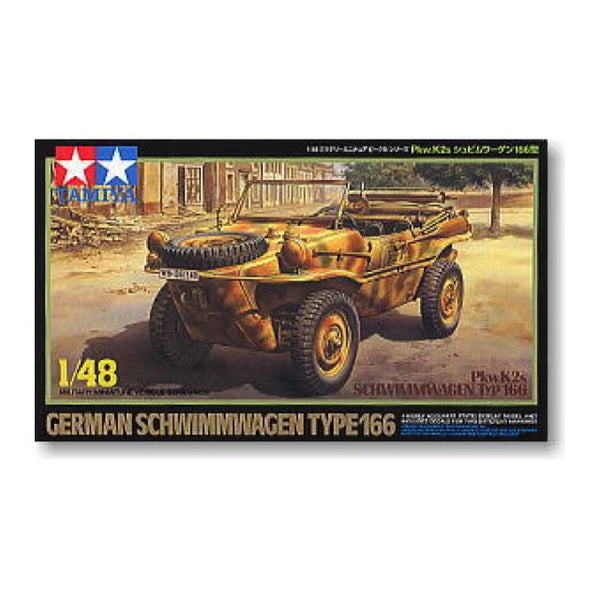 Tamiya Schwimmwagen Type 166 1:48 Art Materials
