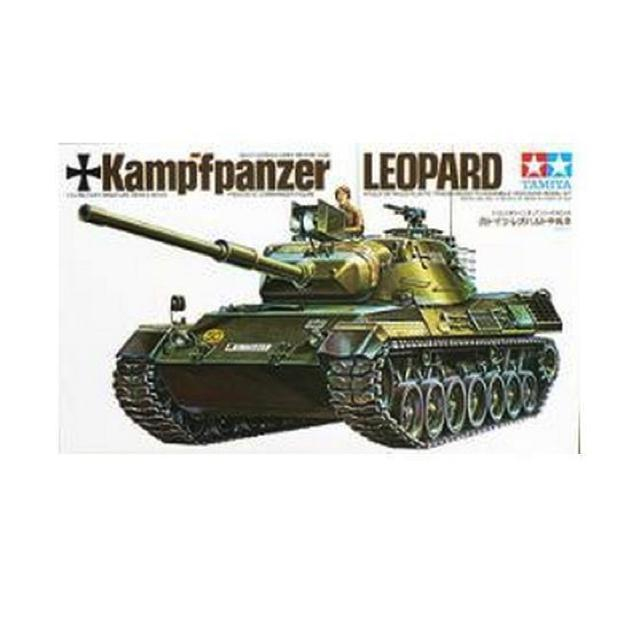 Tamiya West German Leopard Tank 1:35 Art Materials