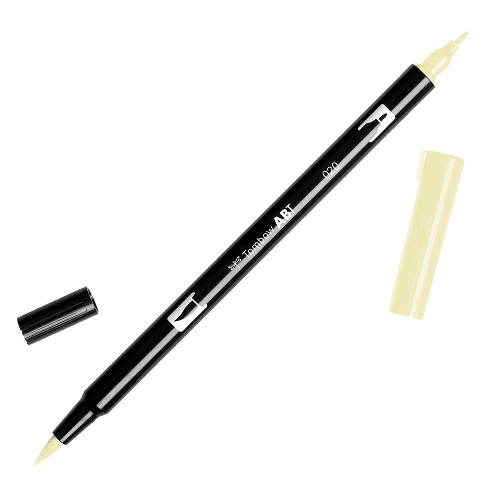 Tombow Abt Dual Brush Pen Peach 020 Art Materials