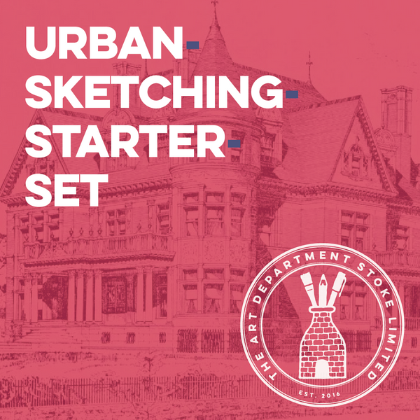 Urban Sketching Starter Set Art Materials