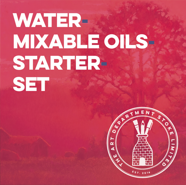 Water Mixable Oil Painting Starter Set Art Materials