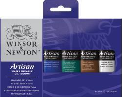 Winsor & Newton Artisan Beginners Set 6X37Ml Art Materials