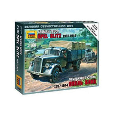 Zvezda 6126 German Opel Blitz 1:100 Art Materials