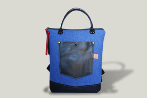 NO. 12 | JEANS POCKET BACKPACK & HANDBAG