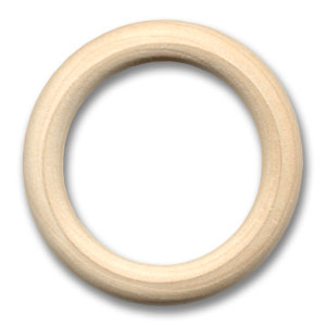 Houten ring ( 55mm ) - Lou Lou