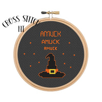 Cross Stitch Kit Amuck Amuck Amuck