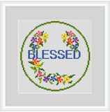 Blessed Cross Stitch Kit.