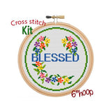 Blessed Cross Stitch Kit