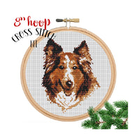 Collie Embroidery Kit