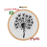 Dandelion Cross Stitch Kit