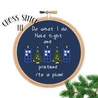 Dr Who cross stitch kit