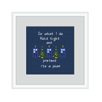 Doctor Who Cross Stitch Kit.