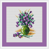 Flowers In The Vase Cross Stitch Kit