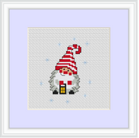 Gnome Cross Stitch Kit