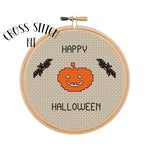 "Cross Stitch Kit ""Happy Halloween"""