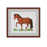 Horse Cross Stitch Pattern. Cross Stitch PDF Pattern.
