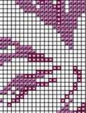 Flowers Cross Stitch. Iris PDF Pattern.