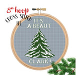 Christmas Vacation Cross Stitch Kit.