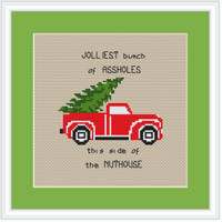 Christmas Vacation  Cross Stitch Kit