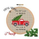 Jolliest Bunch Of Assholes Cross Stitch Kit